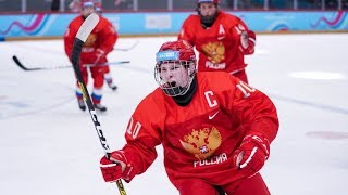 Юношеская сборная России по хоккею выиграла золото в Лозанне
