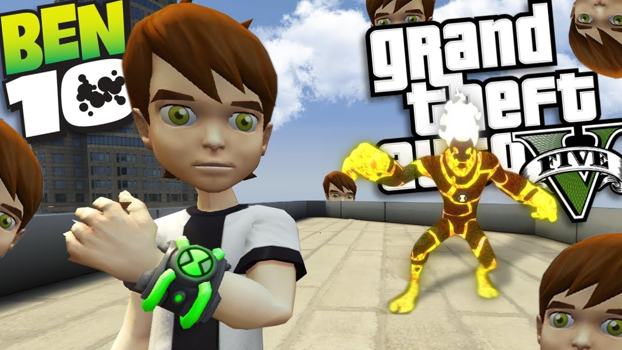 Ben 10 is CLONED MOD (GTA 5 PC Mods Gameplay)