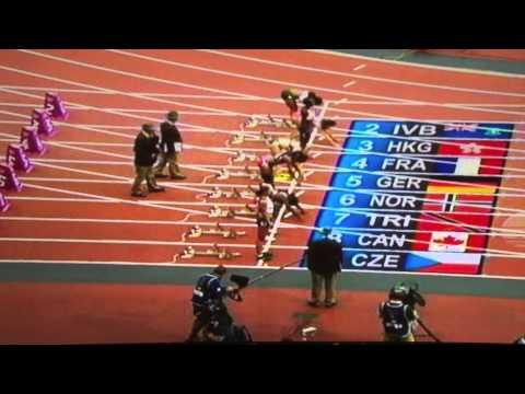 TRINIDAD AND TOBAGO KELLY-ANN BAPTISTE 100MW HEAT#1 OLYMPICS 2012