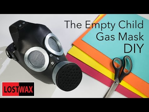 "How to Make the  Doctor Who The Empty Child Gas Mask. DIY ""Are You My Mummy?"""