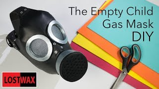 How to Make the  Doctor Who The Empty Child Gas Mask. DIY