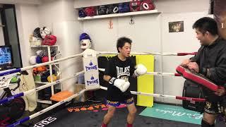 キッズキックボクシング後藤龍治ラストミット