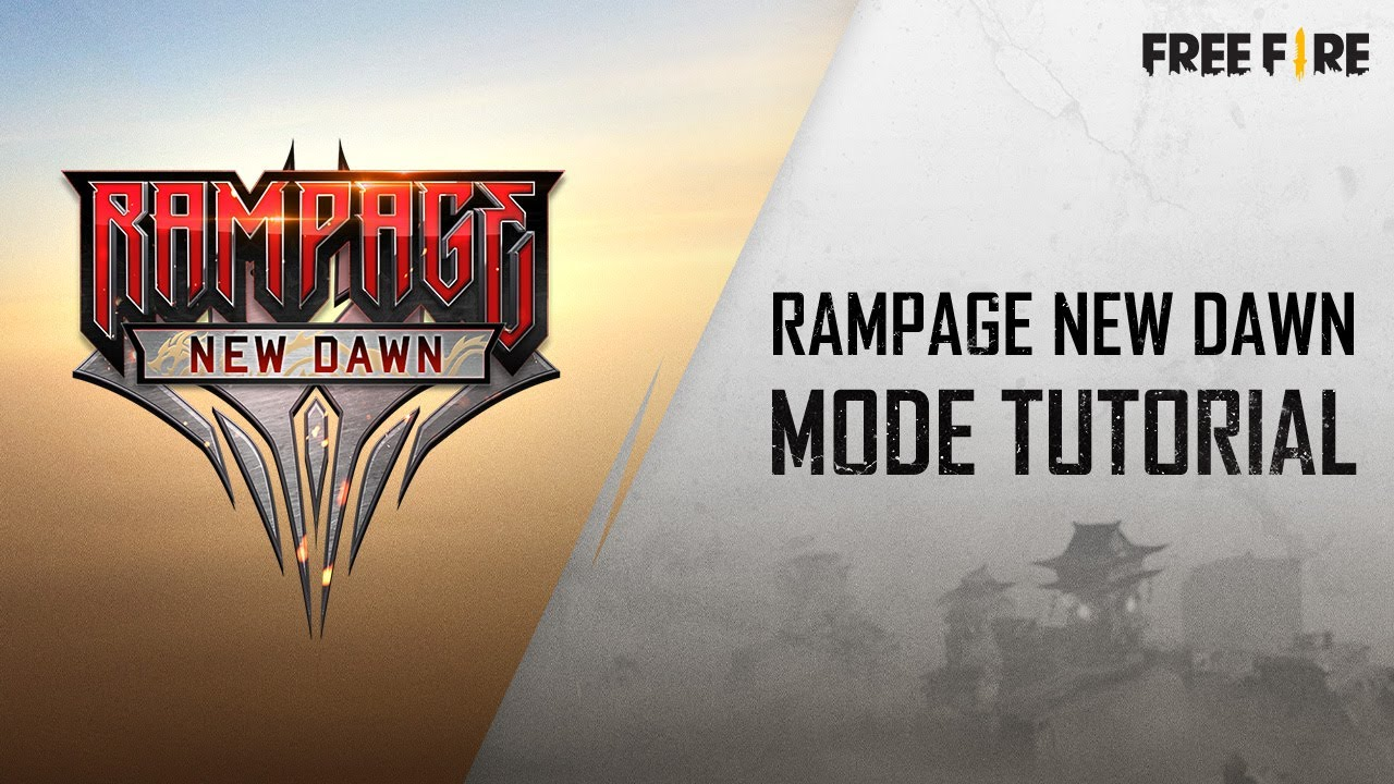 Rampage New Dawn Mode Tutorial | Hindi | Garena Free Fire