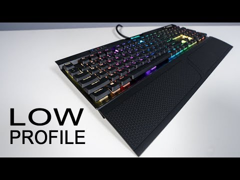 NEW Corsair K70 RGB MK.2 Low Profile Review and Sound Test