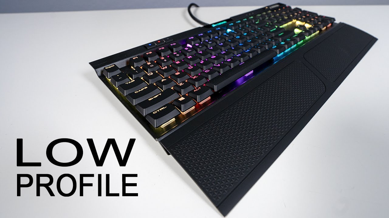NEW Corsair K70 RGB MK 2 Low Profile Review and Sound Test
