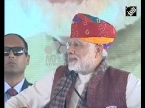 Indian Prime Minister inaugurates project commencement of oil refinery in northwestern Rajasthan