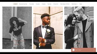 Doshie Dior Creative, Website Design