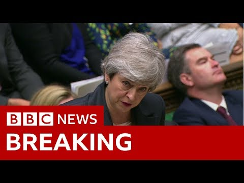 Brexit: Theresa May urges MPs to back her plan - BBC News