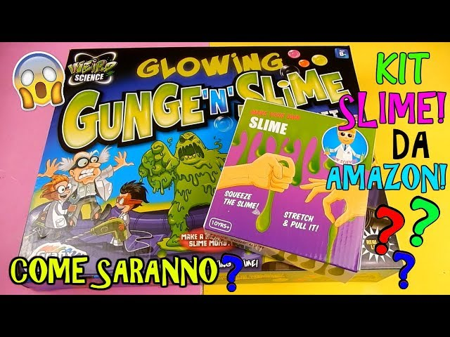 PROVO SLIME KIT DA AMAZON! COME SARANNO? Iolanda Sweets