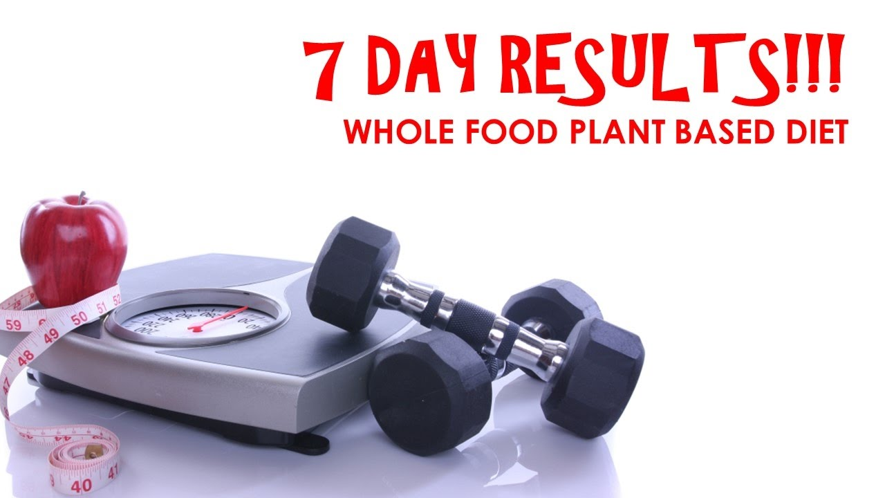 Denny\'s Plant Based Journey - 7 DAY RESULTS ON A WHOLE FOOD PLANT ...