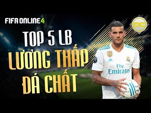 DÒNG CHẢY FIFA   Top 5 Hậu vệ cánh trái lương rẻ hay nhất Fifa Online 4