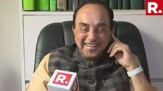 BJP MP Subramanian Swamy Speaks To Republic TV, Says 'Shiv Sena's Reputation Has Been Hit'