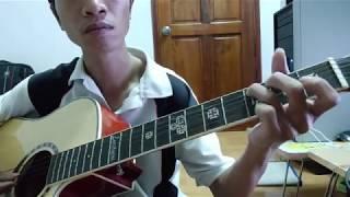 Hướng dẫn guitar Bolero Nâng Cao Vùng lá me bay( intro+chạy bass+lead+strumming)