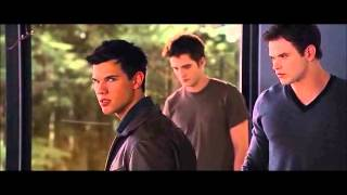 48. Amanecer 1 - Edward, Jacob y Bella discuten por el embarazo