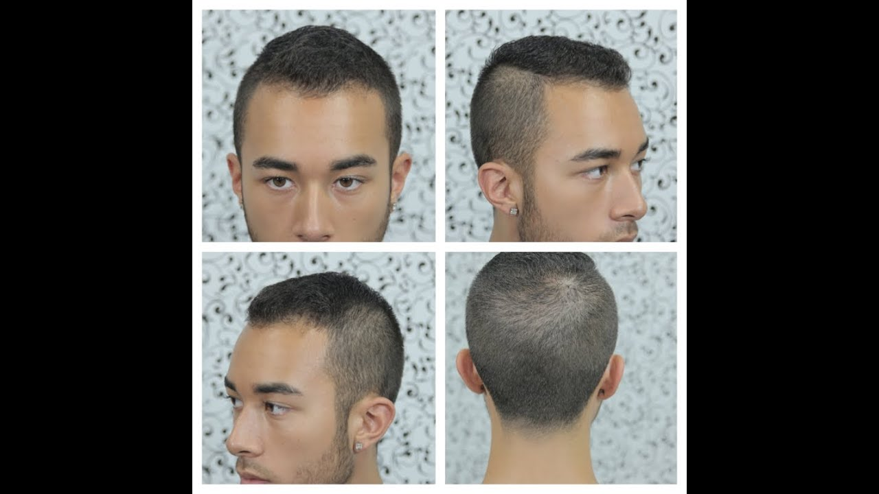 My Sons New Haircut Tutorial Mens Side Part Undercut Hairstyle - Undercut hairstyle front view