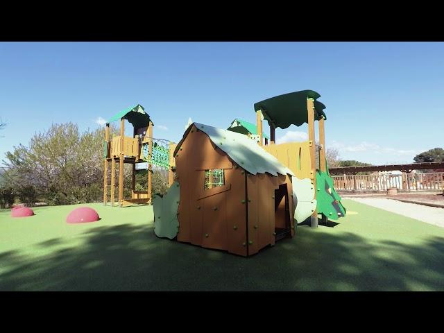 PleinBois Aménagement - Aire de jeux - Camping Luberon Parc 2019