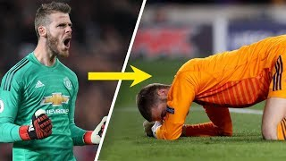What the hell is happening to David de Gea? - Oh My Goal