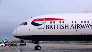 British Airways Lands at San Jose California