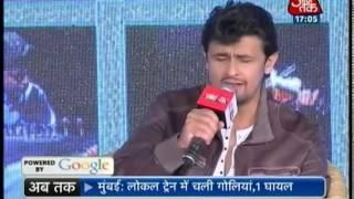 Agenda Aaj Tak: Sonu Nigam - Part 2