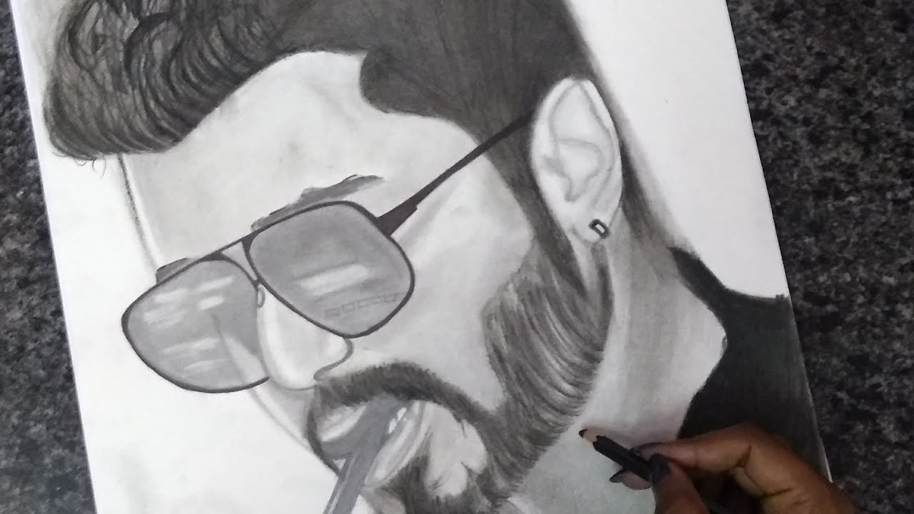 Sarkar First Look Drawing Youtube