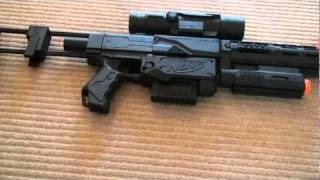 Modded Nerf Recon CS-6