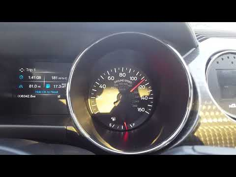 Supercharged mustang top speed