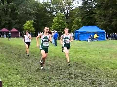 2011 McQuaid Invitational - Burnt Hills boys varsity - slow motion - Dan