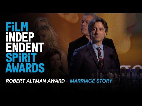 MARRIAGE STORY Wins The Robert Altman Award At The 35th Film Independent Spirit Awards.