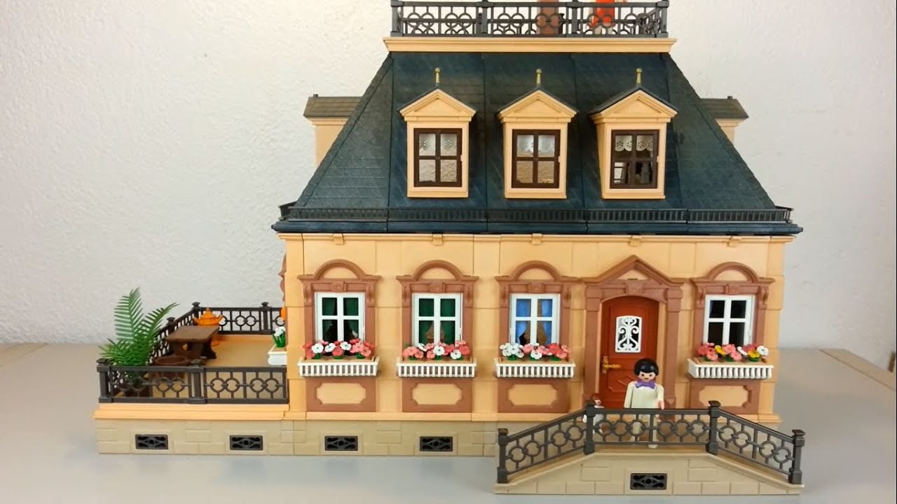 kleines puppenhaus 5305 playmobil von 1990 seratus1 dollhouse youtube. Black Bedroom Furniture Sets. Home Design Ideas