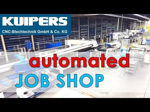 Nesting Software - ERP Controlled - Automated Trumpf Sheet Metal Job Shop By WiCAM