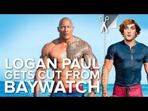 Logan Paul has been cut from, like, all of The Rock's movies 2017