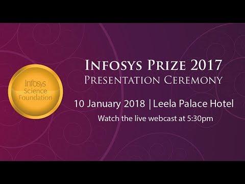Infosys Prize 2017 Presentation Ceremony - Live