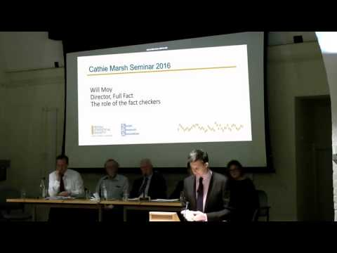 Cathie Marsh Lecture - Statistics in the EU Referendum - Will Moy