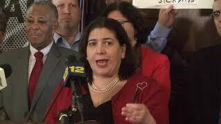 White Plains rally for sick leave legislation