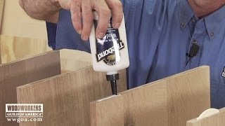 Preventing Glue Drips  |  Woodworkers Guild Of America