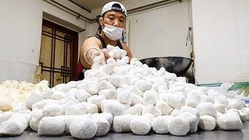 착한 가격! 170원 튀김만두, 하루 10000개 판매하는 야끼만두 달인, Amazing Skills, Fried Dumplings Master, Korean Street Food