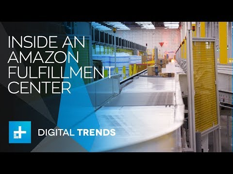 Inside Amazon's Fulfillment Center in Kent, Washington