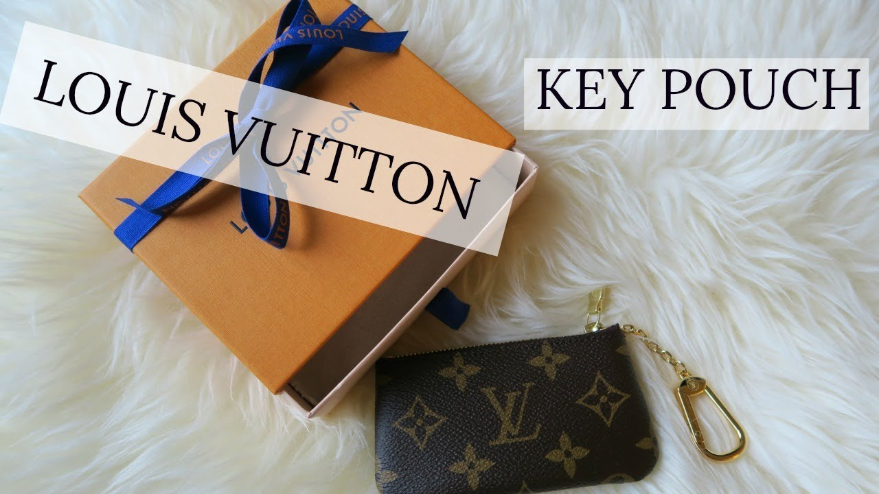 dcc6cdd7a269 Louis Vuitton Key Pouch Unboxing  Review - YouTube