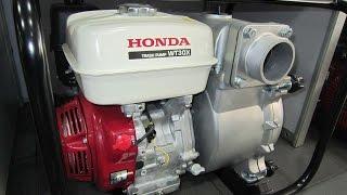 Ремонт и обслуживание мотопомпы для грязной воды Honda WT30X