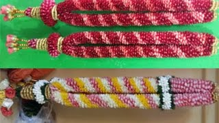 how to make garland with rose petals 9884436365