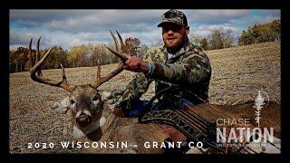 BIG 8 Point Buck - WISCONSIN DEER HUNTING 2020 (Bow Hunt)