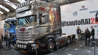 Michel Kramer - xXxtreme Scania R730 Special @ BedrijfsautoRAI 2012  ***Stena Stål***