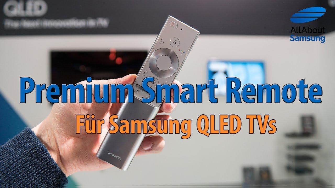samsung premium smart remote 2017 f r qled tv youtube. Black Bedroom Furniture Sets. Home Design Ideas