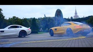 Тест-драйв Mercedes-AMG GT S 510 сил - дрифт, стенд, 0-250 км/ч и не только!