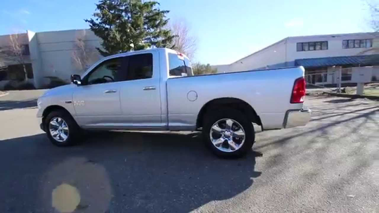 2015 dodge ram 1500 big horn bright silver fs556691 redmond seattle youtube. Black Bedroom Furniture Sets. Home Design Ideas