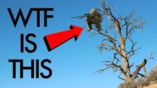 SNIPER Climbs Tree and KILLS everyone