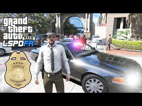GTA 5 - LSPDFR Ep556 - Crime Investigation in Movie Studio!!