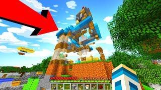 Minecraft: ZNISZCZYŁEM CAŁĄ FERAJNĘ!