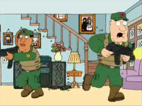 "epic family guy clip ""flea exterminator's"""