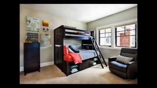 Kids Room Color Black | Boys Bedroom Design